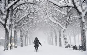 walking winter